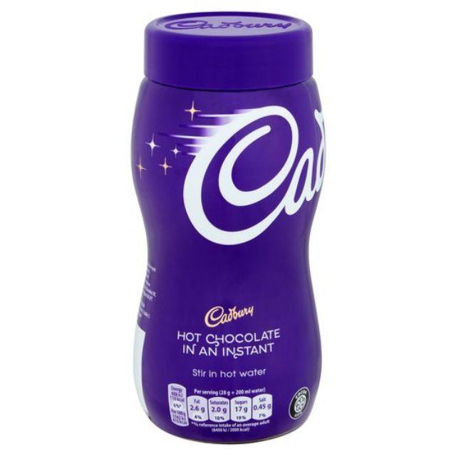 🇬🇧 Cadbury Instant Hot Chocolate Cocoa Powder 400G