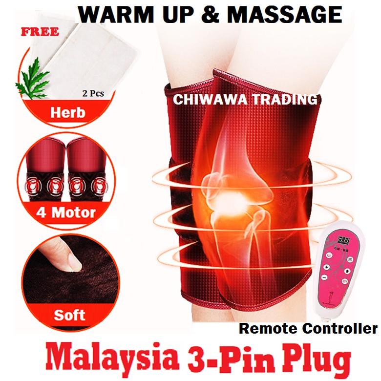 Body Massage Knee and Arm Belt Back Cervical Vertebra Neck & Shoulder Massager Heat Treatment Timing