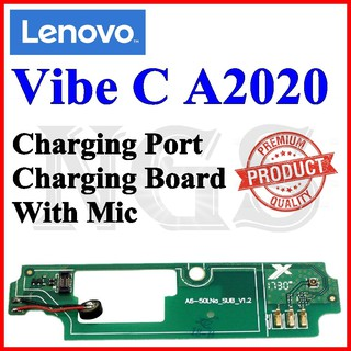 Lenovo A2020 Charging Port Charging Board With Mic + 8pcs