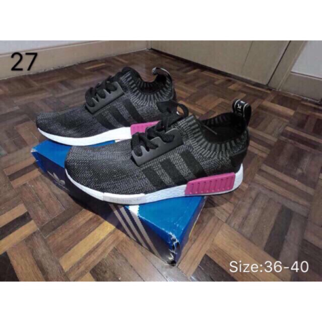 Ready Stock Original Adidas NMD R1 Boost MenWomen Sneakers Running shoes
