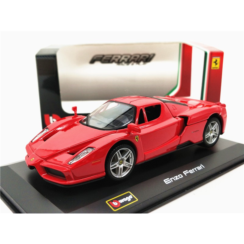 Bburago 132 Ferrari Enzo Diecast Miniature Vehicle Shopee Malaysia