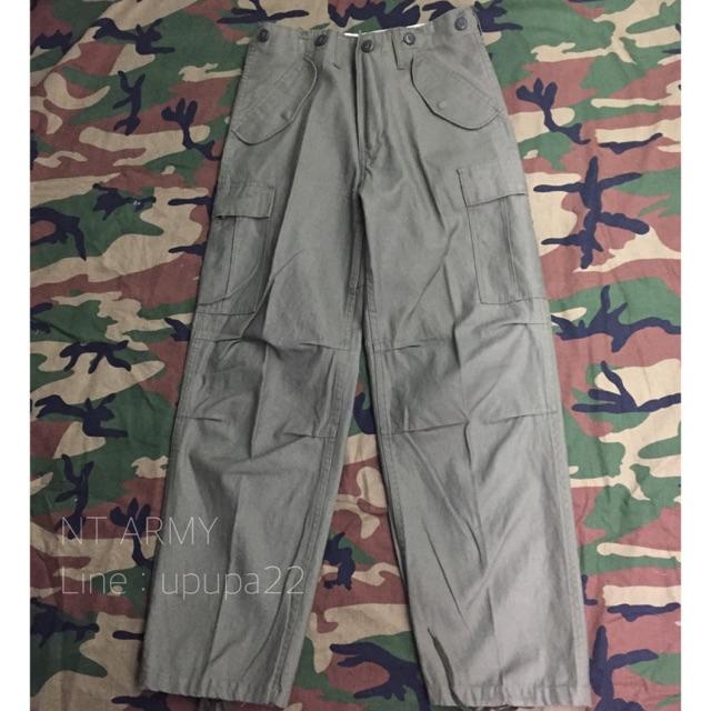 กางเกงทหารขายาว รุ่น