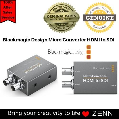 Blackmagic Design Micro Converter Hdmi To Sdi Shopee Malaysia