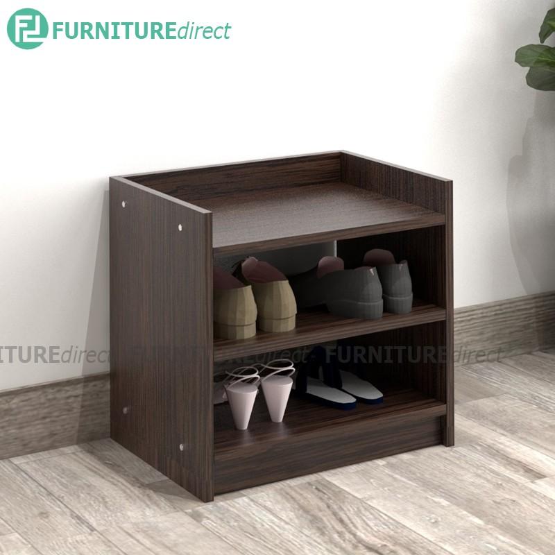 Furniture Direct BRUNO 2 tier space saver shoe rack/ bedside table