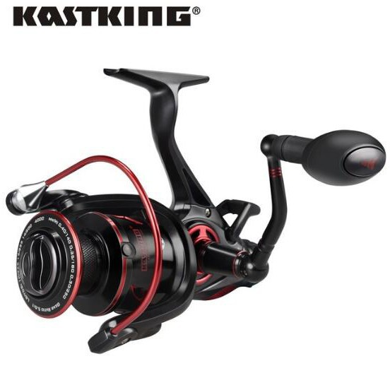 11BB 5.1:1 Gear Ratio Spinning Reel Front and Rear Drag Fishing Reel