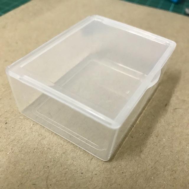 Plastic Empty Box 5.5cm X 4.2cm X 2cm