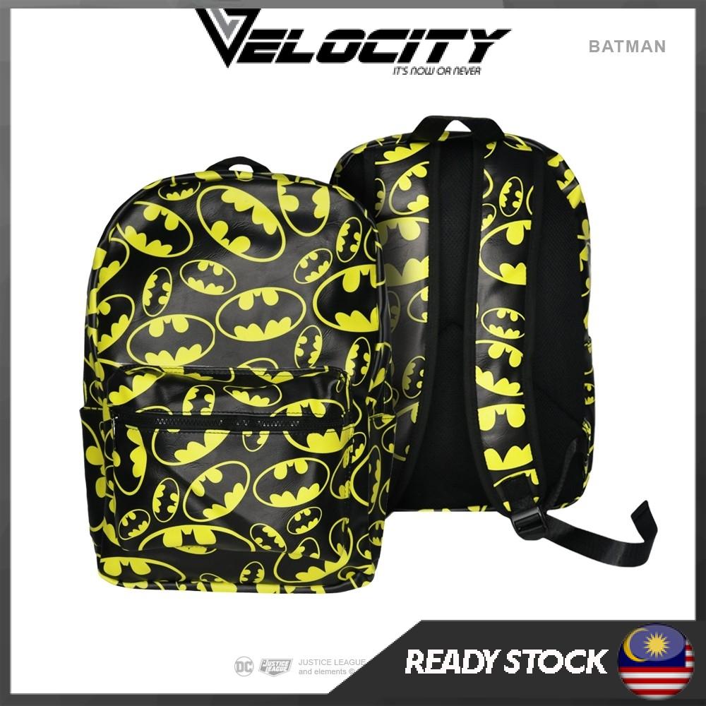 Batman Back Pack [Original] Graphic Bag PU Leather Bag