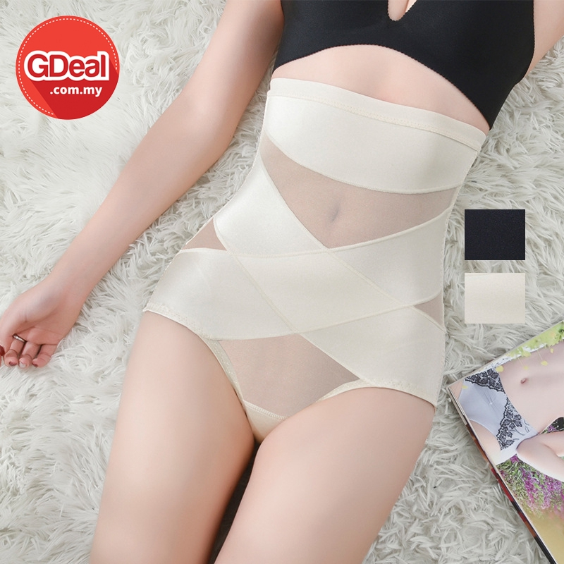 GDeal Women Breathable Hip Shaper Slim Cutting Corset Flat Slimming High Waist Pants Pakaian Wanita ڤاكاين وانيتا