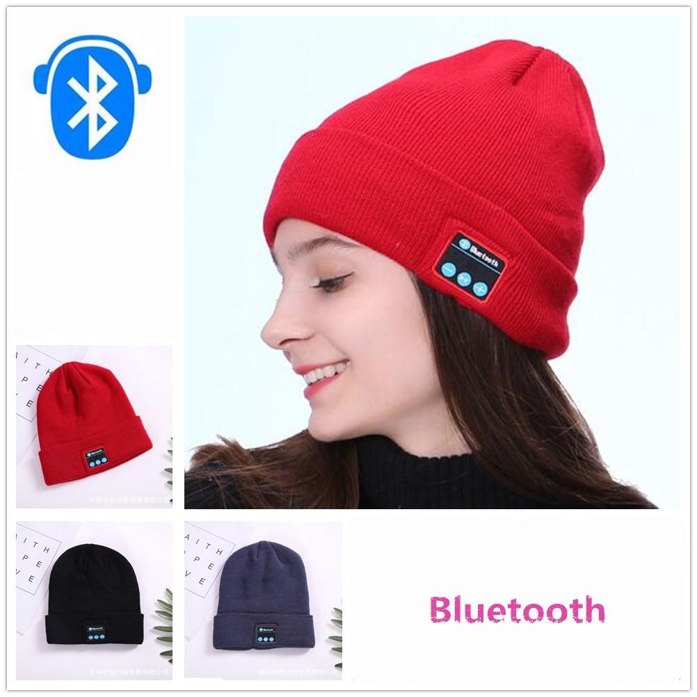 3e0f0b64ab5 Bluetooth Beanie Smart Winter Knit Hat V4.1 Wireless Musical Headphones  Earphone