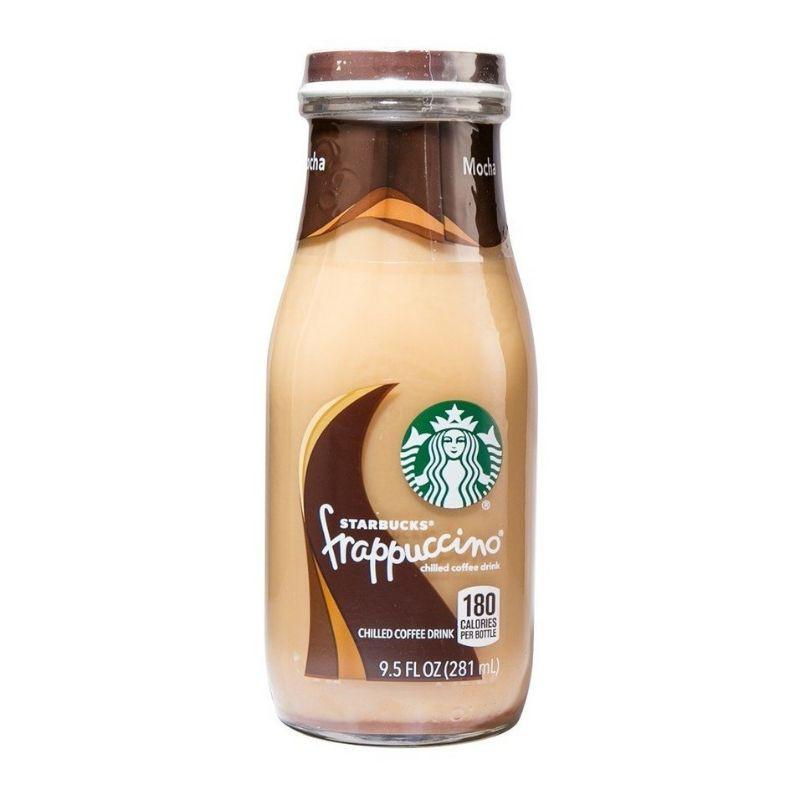 【Starbucks Frappuccino 星巴克 星冰乐】Coffee Beverages Drinks 咖啡饮品饮料 ~ Mocha 摩卡 l Original 原味 ~ 281ml
