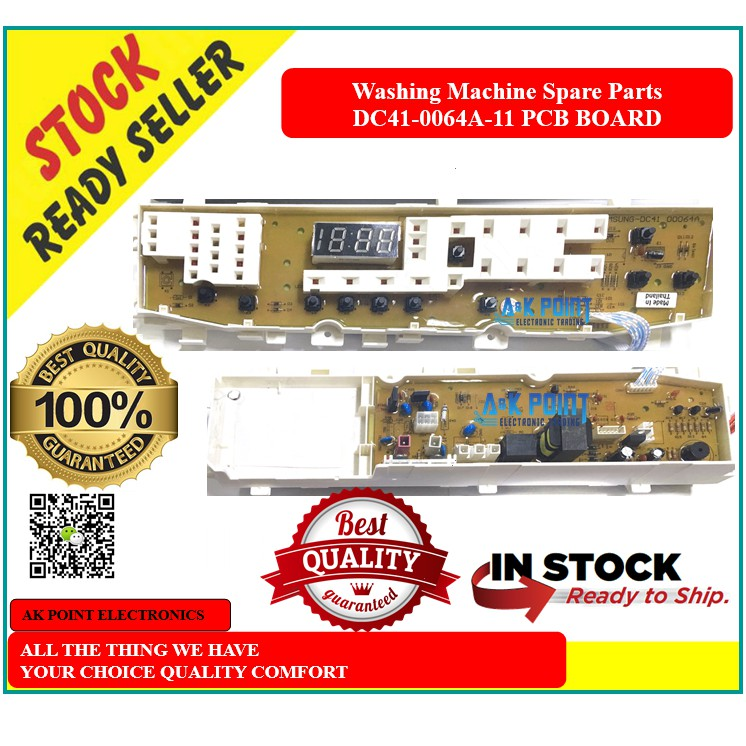 Washing Machine Spare Parts - DC41-0064A-11 Pcb Board ( Samsung ) Ready Stock