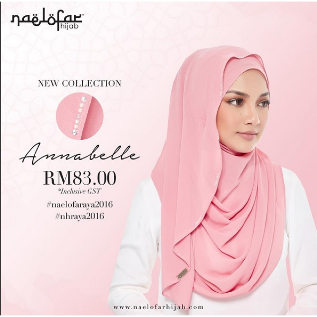 Naelofar Hijab ANNABELLE