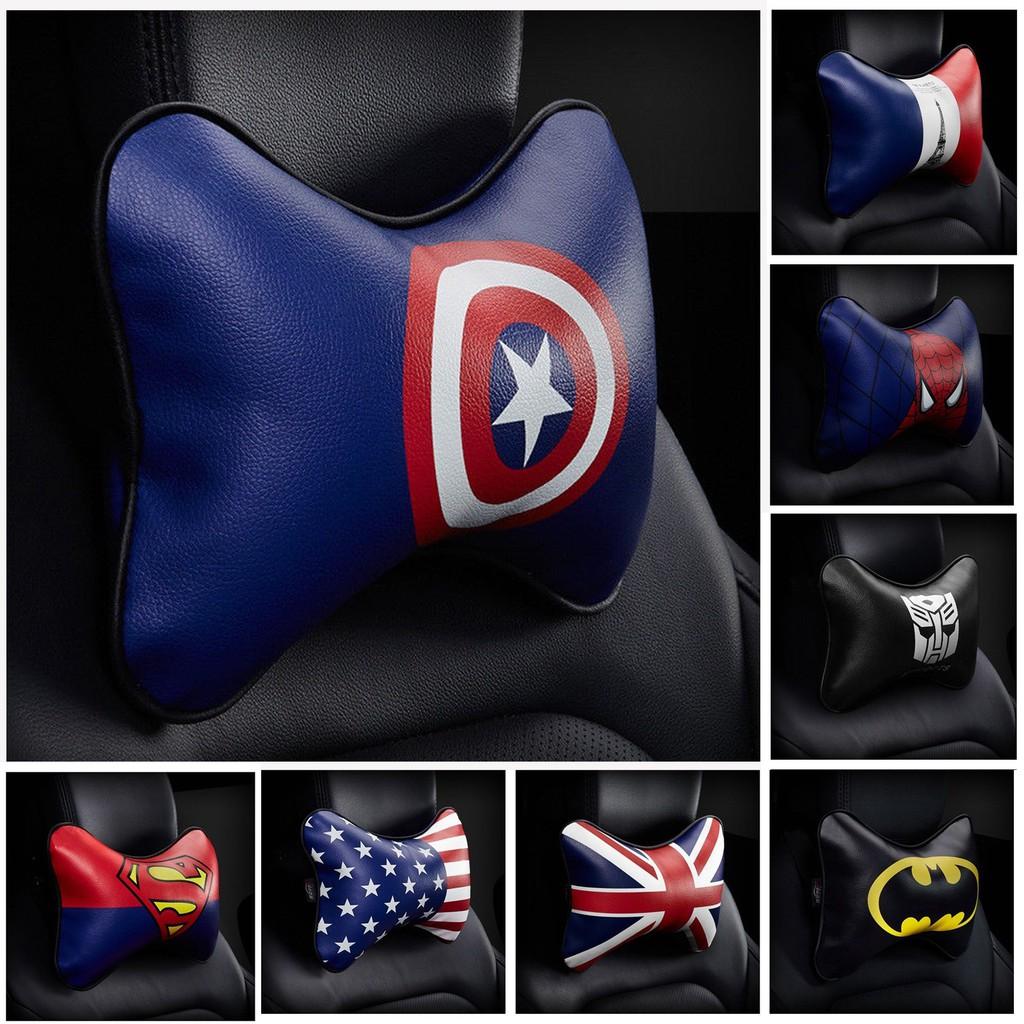 3b6eaca8c03 CA001 Marvel Super Heroes Car Headrest Neck Pillow