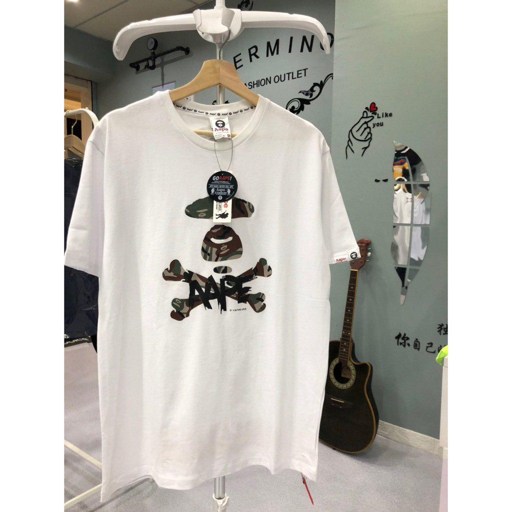 AAPE T-Shirt 2822W PREMIUM T-Shirt by A Bathing Ape