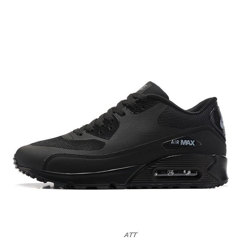 MensWomens Nike Air Max 90 Ultra 2.0 Essential Triple Black 875695 002