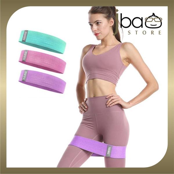 Aolikes Set of 3 Hips Shape Resistance Stretch Band Strength Exercise Fitness Yoga Workout Training