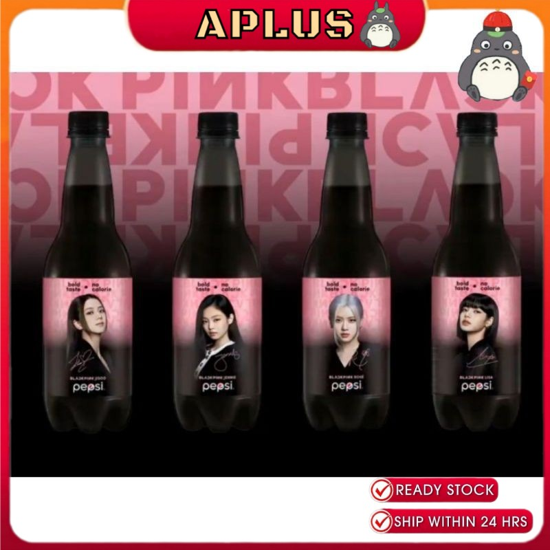 OFFICIAL PEPSI x BLACKPINK LIMITED EDITION 400ML