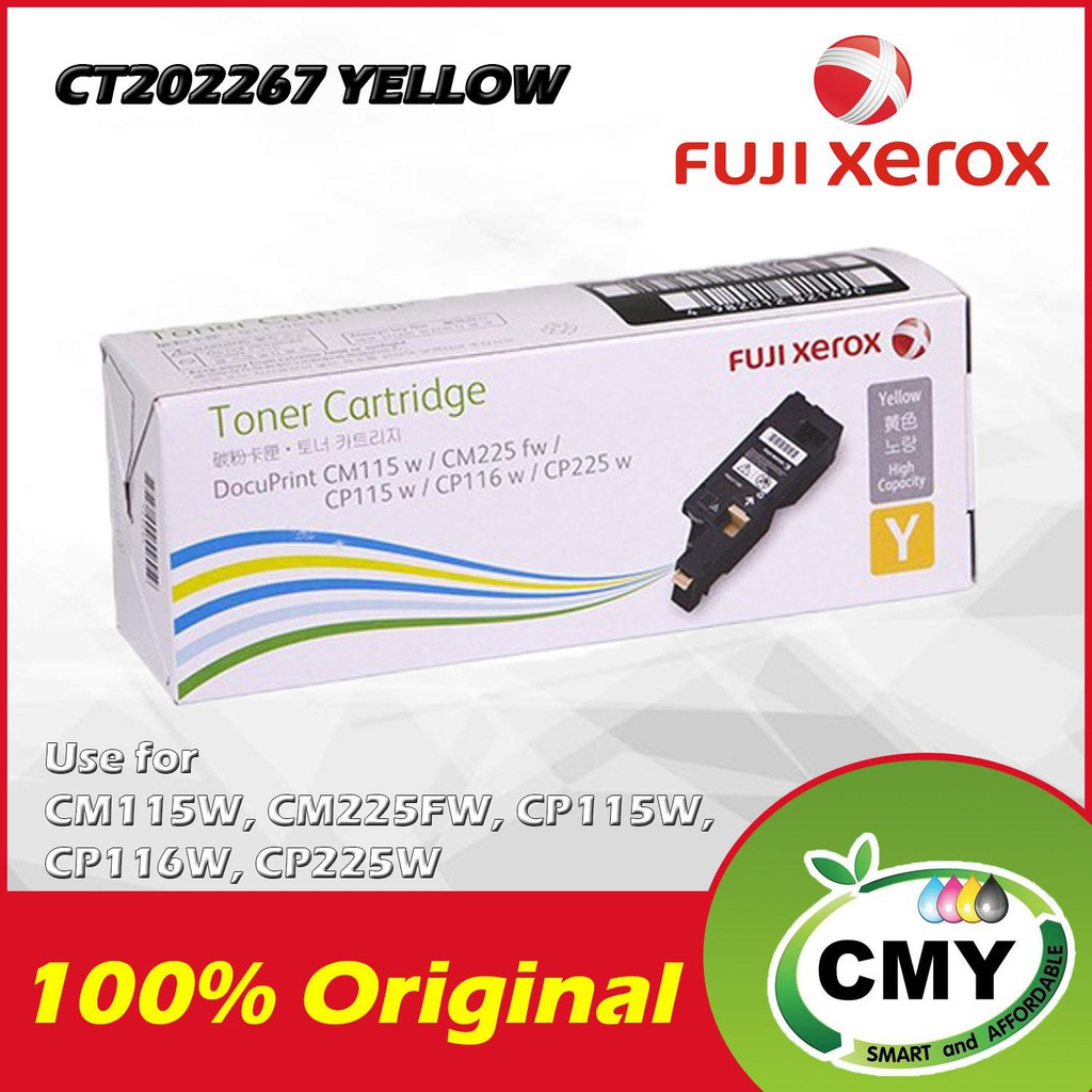 Fuji Xerox CT202267 Original Yellow Toner
