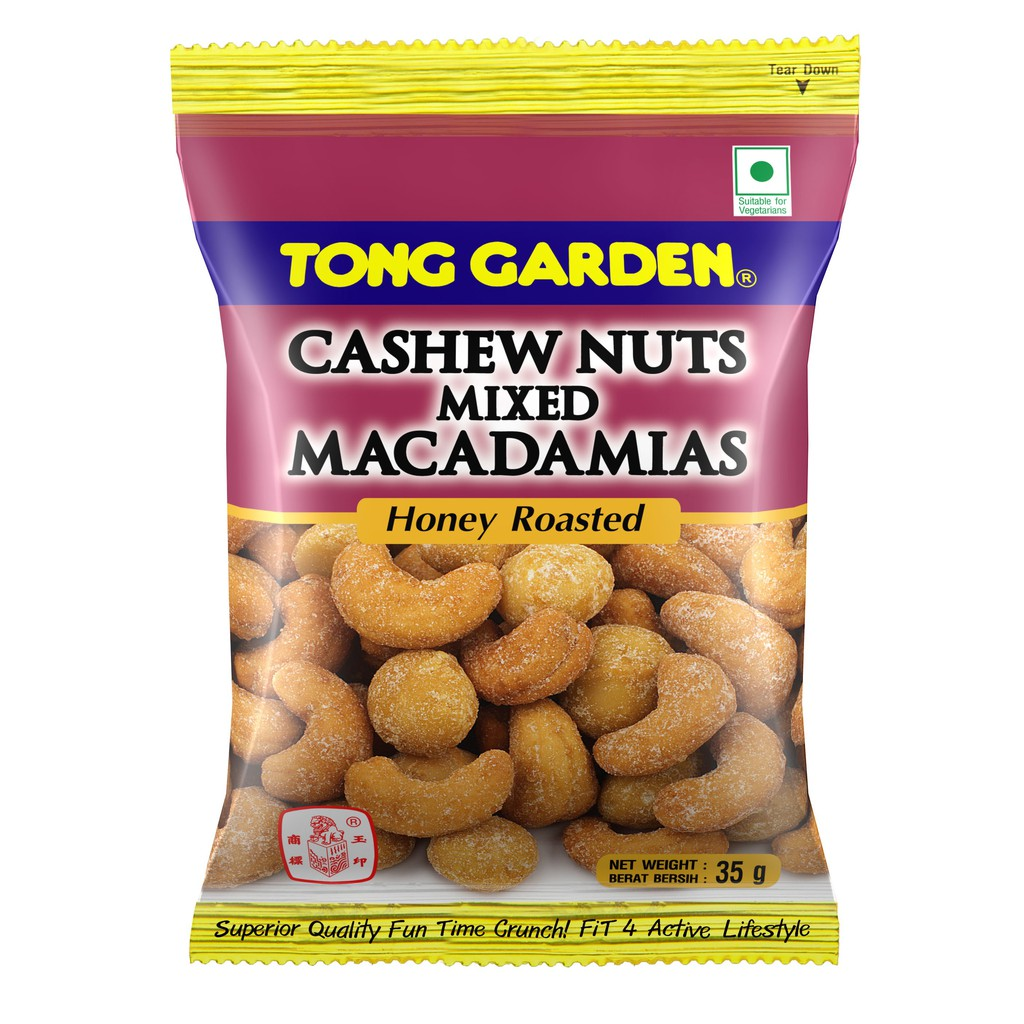 TG Cashew Nuts Mixed Macadamias Honey (35g x 6 Packs)