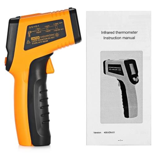 TN400 NON-CONTACT DIGITAL LASER INFRARED THERMOMETER (DEEP YELLOW)