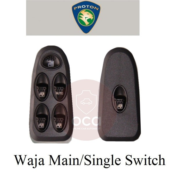 OEM Power Window Switch for Proton Waja (Main Switch/Single Switch)