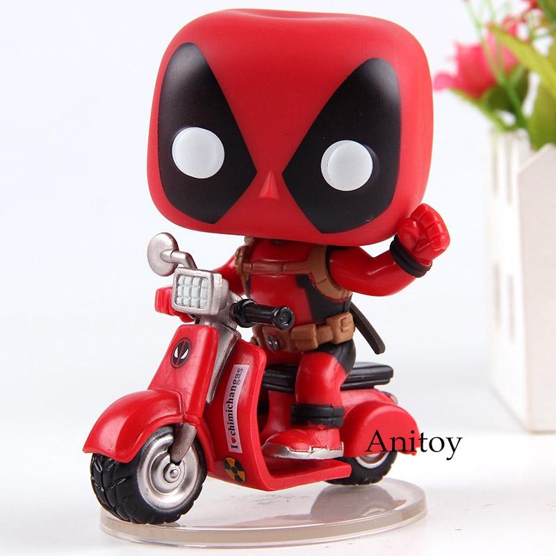 Details New Bobble Head Deadpool Vinyl Action Figure Toy 10cm Collectible Toy