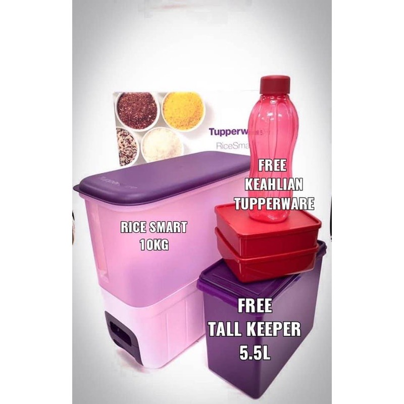 Rice smart TupperwareBrands with free gift