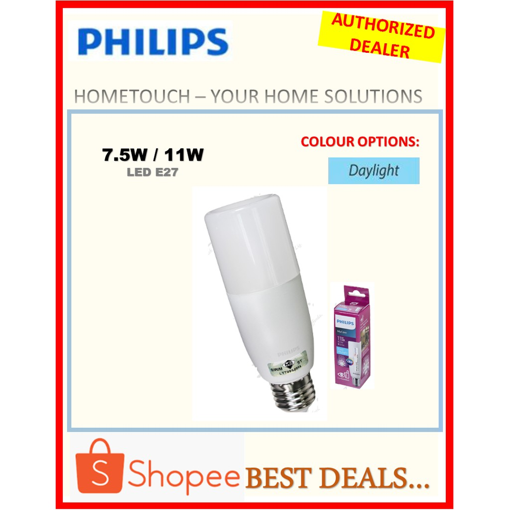 11wgeneration 2 Philips Stick E27 Bulb Led kXOZuPi