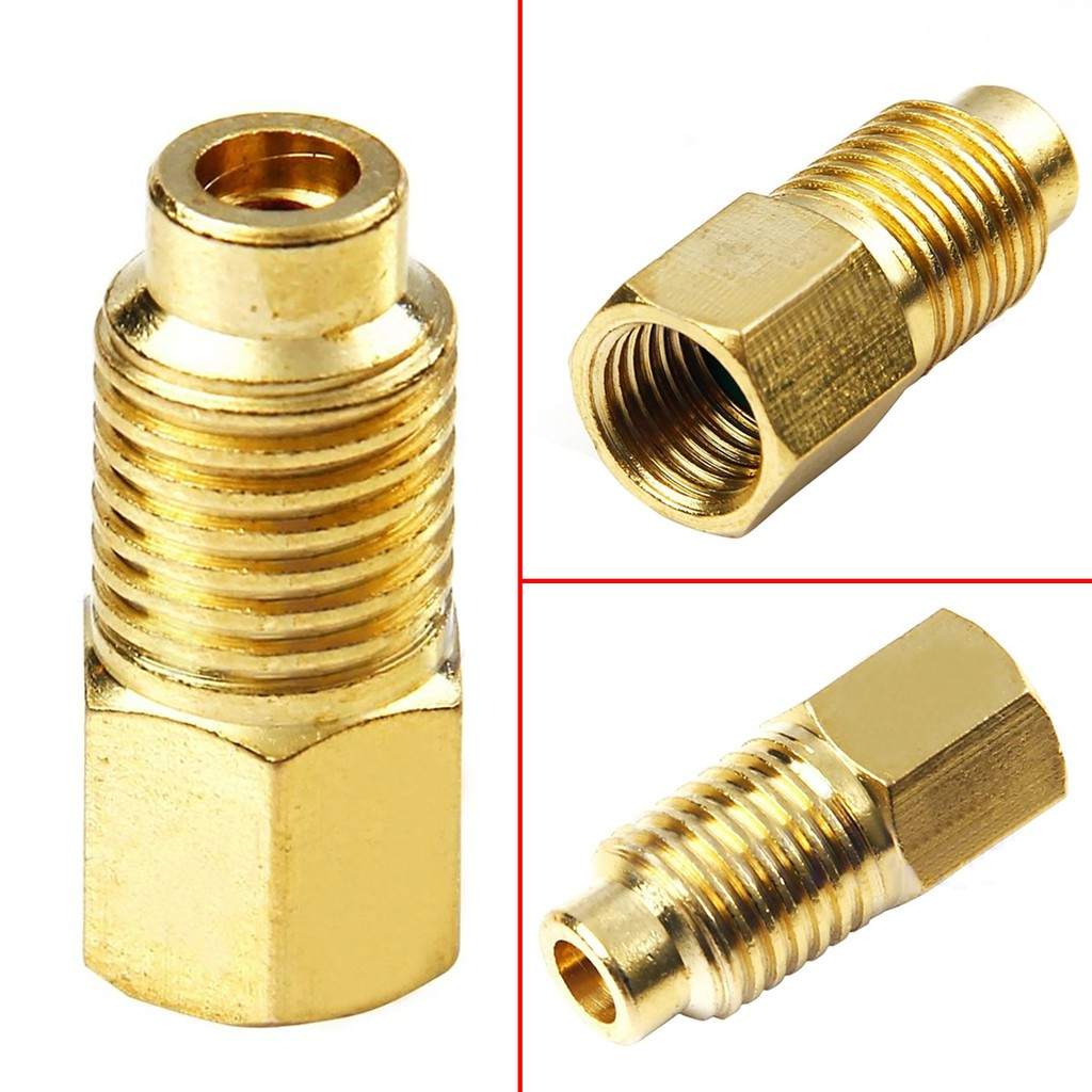 """1//4/"""" FEMALE FLARE WITH O-RING X 1//2/"""" ACME MALE 1PCS R12 to R134A ADAPTER"""