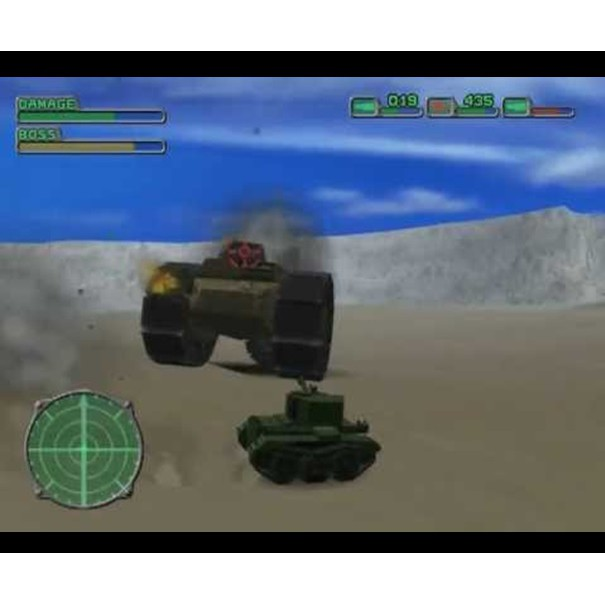 PS2 Game Seek and Destroy, Vehicular Combat Game, English version / PlayStation 2