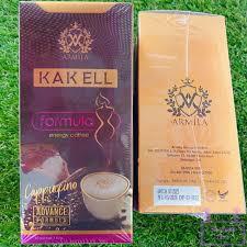 KAK ELL ENERGY COFFEE CAPPUCINO ADVANCE FORMULA 10SACHET 100% ORIGINAL HQ+FREEGIFT