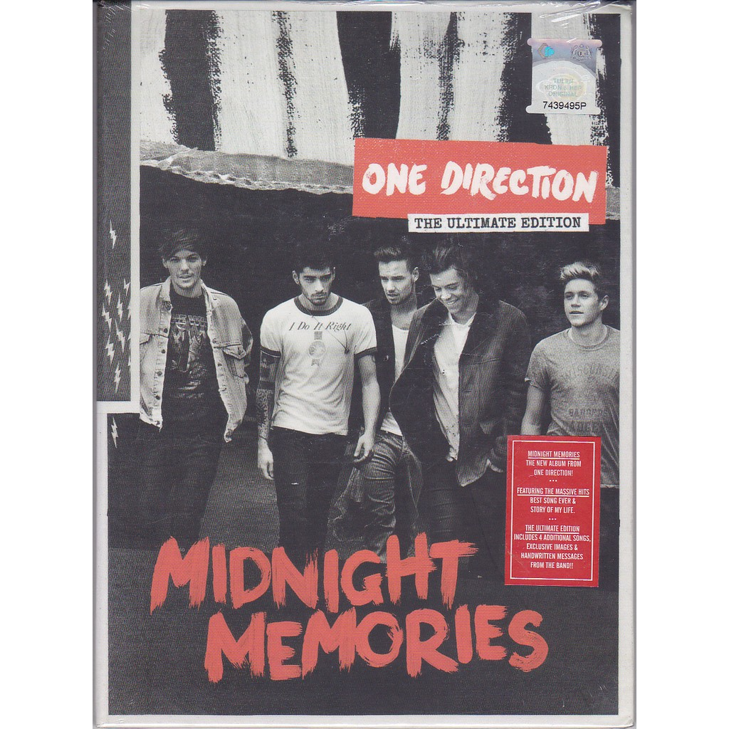 ONE DIRECTION - MIDNIGHT MEMORIES CD ( THE ULTIMATE EDITION )