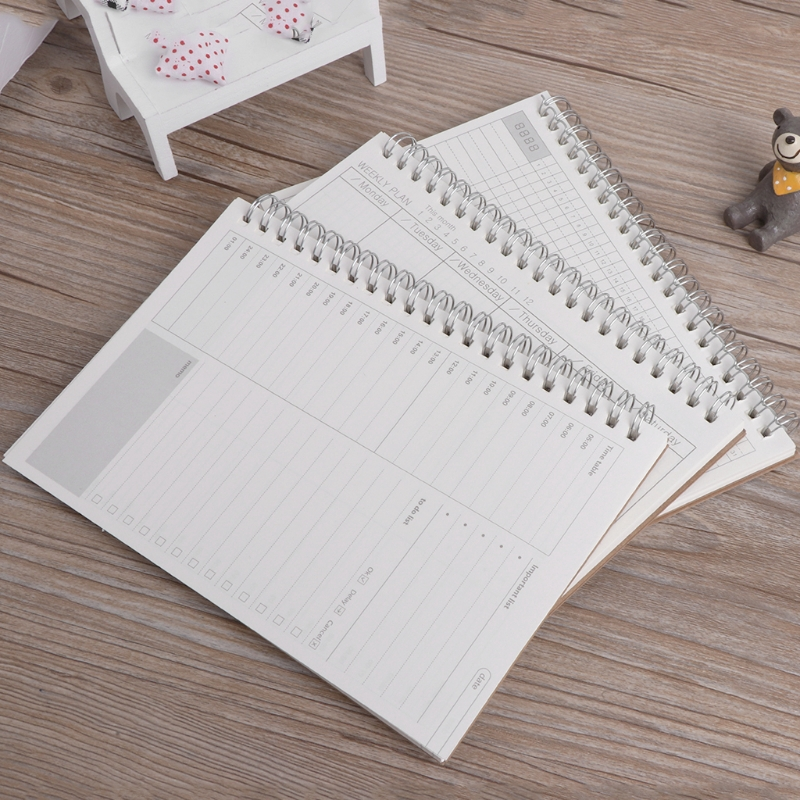 d36ed1650d1f COLO Planner Book Monthly Weekly Daily Agenda Schedule Diary