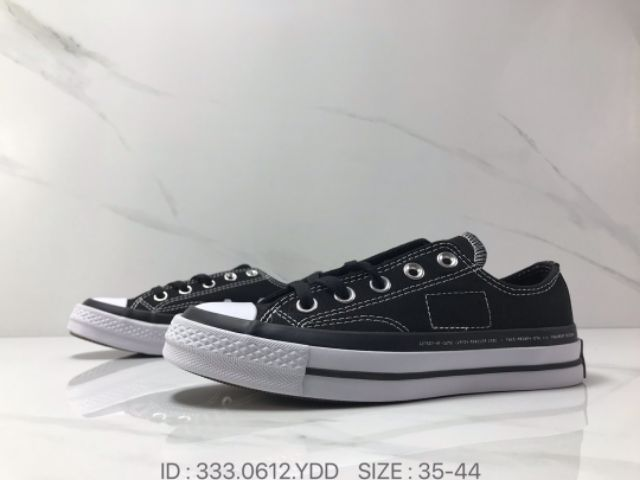 💥READY STOCK💥X Converse Chuck Taylor All Star 1970s OX Black/White Low Top Casual Sneakers PREMIUM