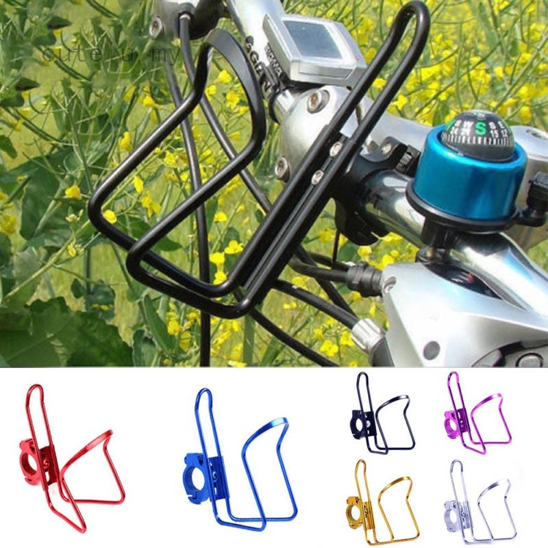 Quick Release Drink Bottle Cup Holder Mount Cage Motorcycle Bike ATV Handlebar