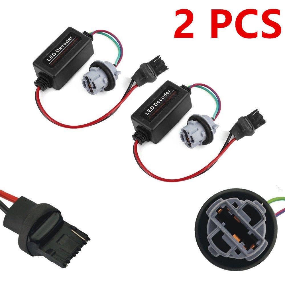 2x 50w 3157 Load Resistor Adapter Anti Hyper Flashing Error E39 Fsu Wiring Diagram Canceller Decoder Shopee Malaysia