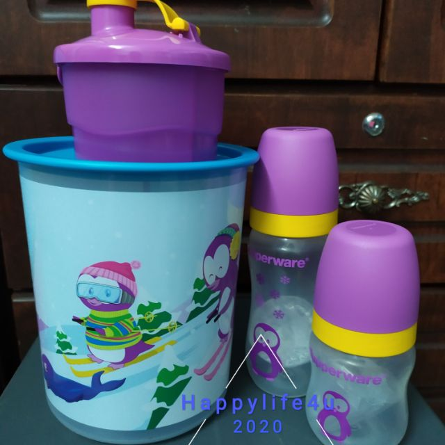 [LIMITED STOCK] Baby Twinkle Penguin Tupperware