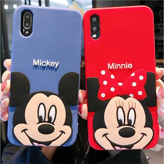 cheap for discount 5db8e b2a73 3D Embossed case💓Cartoon💓Blue&Red iPhone X XR XSmax 8 7 6 6s Plus phone  cover soft cover case