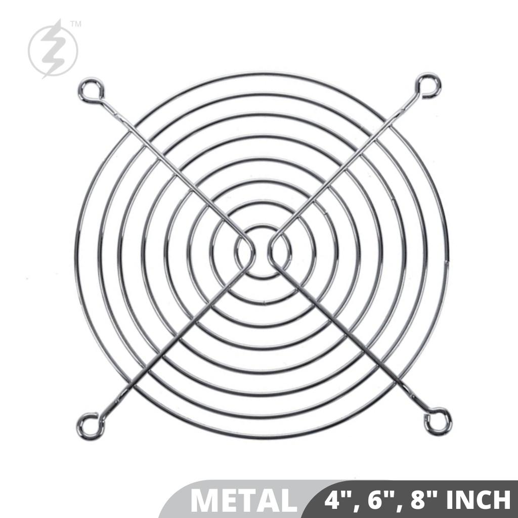 """Metal Wire Finger Guard for 4"""" 6\'"""" 8"""" Axial Fan / Blower Fan / Fan Grill/ Guard Protector"""