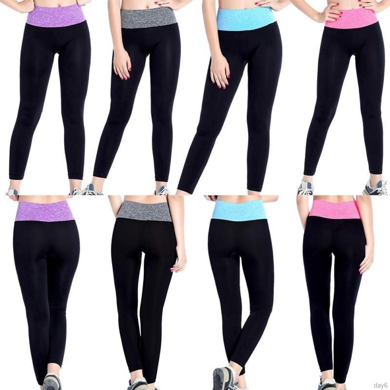 75b21fe9f9ad0 Quick Dry Running Fitness Sports Pants Elastic quick dry yoga tight sports  running fitness pants