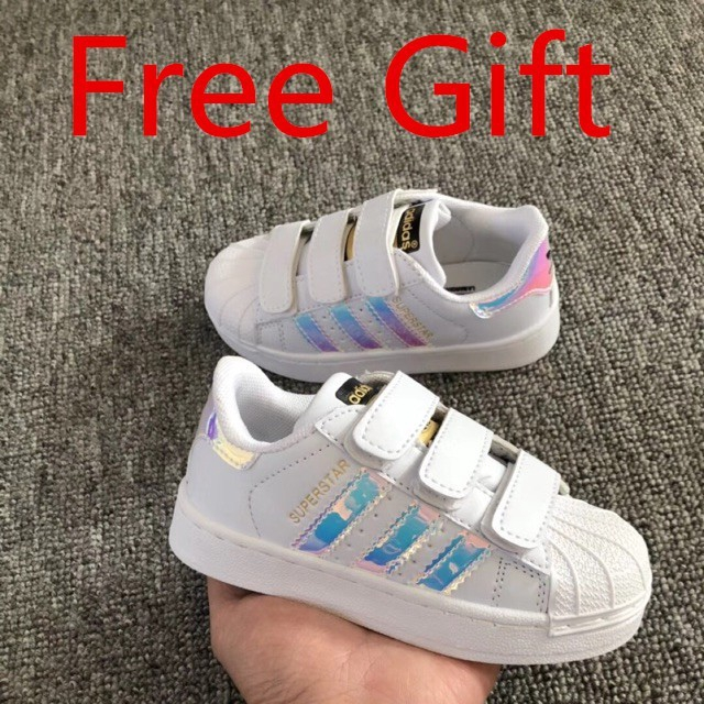 057e37fe ProductImage. ProductImage. Ready Stock Adidas superstar children shoes  sport shoes casual ...
