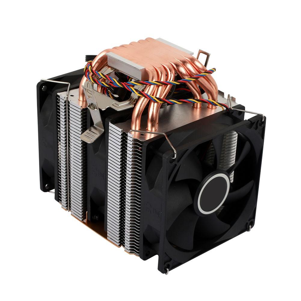 CPU Cooling Fan Heatsink Noiseless Fluid Bearing 1 Set