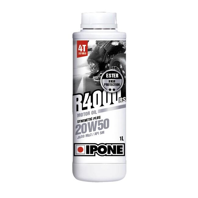 IPONE R4000 RS 20W50 4T 1 Liter Motorcycle Engine Oil