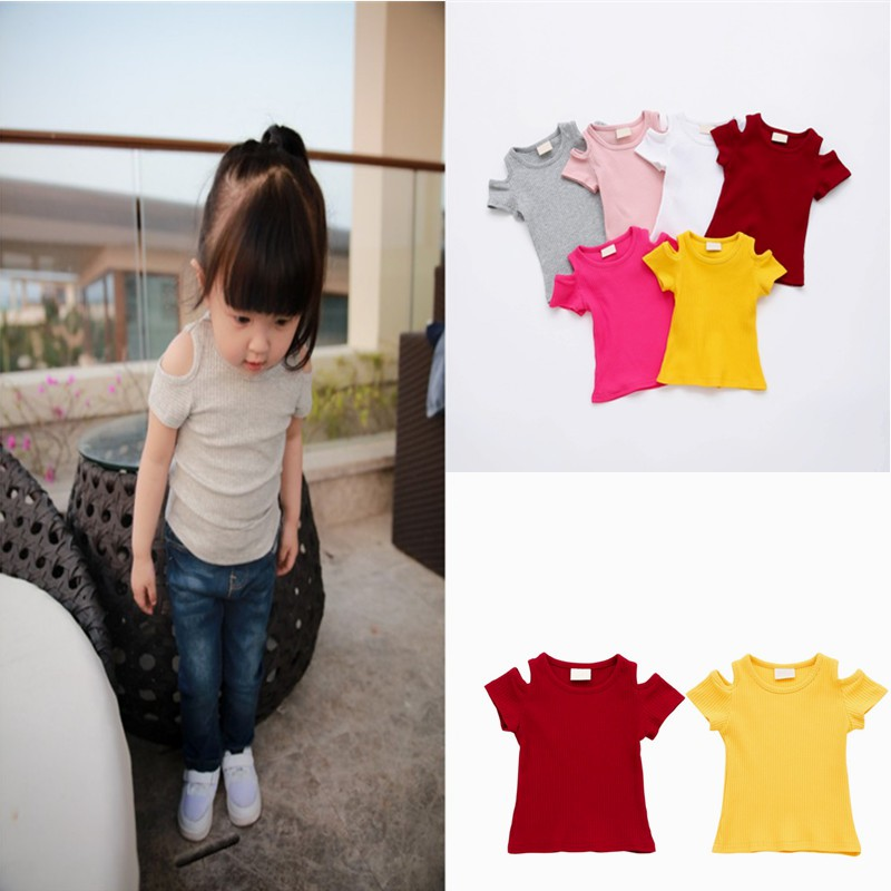 1c24687dca8fc Summer Infant Toddler Kids Baby Girl Dress T-Shirt Clothes Casual ...