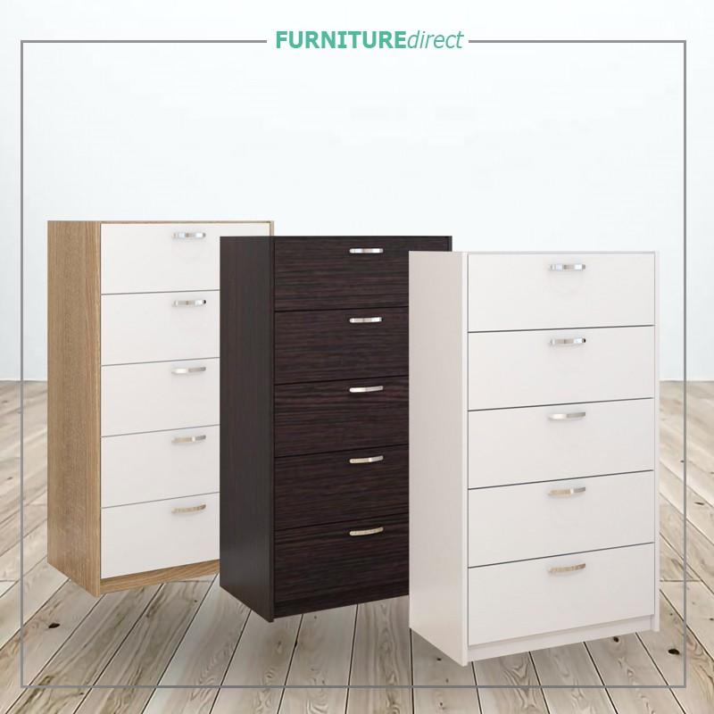Furniture Direct Chest Drawer 5 Layer Ikea Storage Cabinet Almari Baju Bedroom Furniture Hest Drawer Bedroom Furnitur Shopee Malaysia