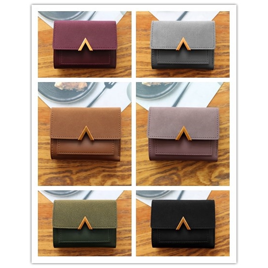 Lady Wallet Pouch Women Ladies Dompet Beg Small Short Girl Purses
