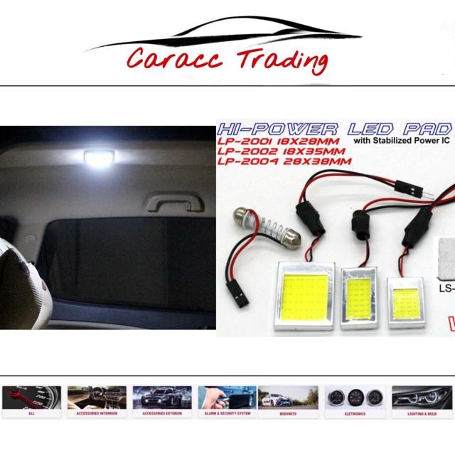 Hi power Led pad room light/ Boot lamp/ interior light