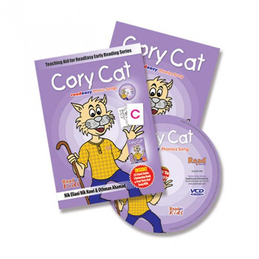 READ EASY - VCD LAGU CORY CARD 3 IN 1 + free POSTER