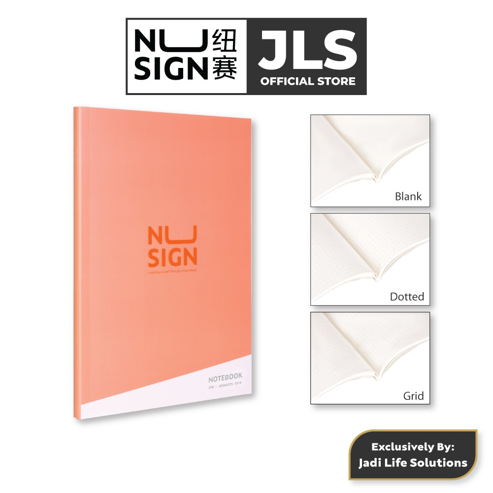 Jadi Nusign Multipurpose Notebook in Rose Pink