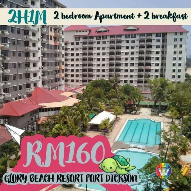 Voucher Murah Glory Beach Resort Pd Shopee Malaysia
